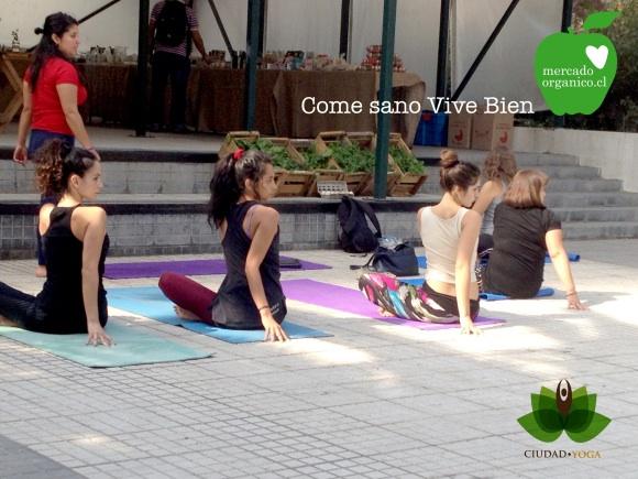 Hoy yoga en MO Plaza Perú!
