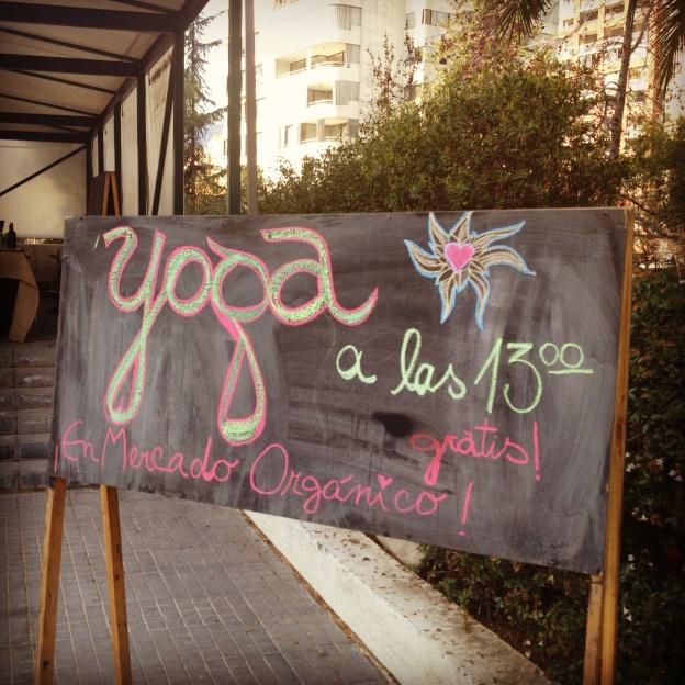 Celebramos el día del Medio Ambiente con clase de Yoga!