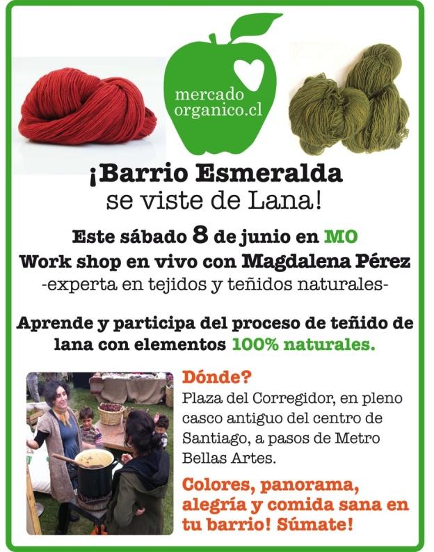 Calor y Color orgánico en MO Esmeralda