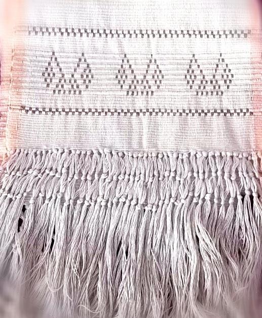 bufanda algodón peruano