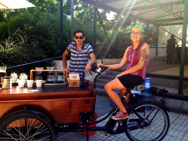Café Triciclo en MO !