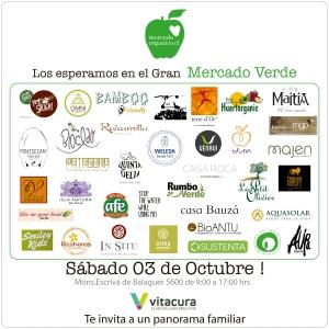 Ven a conocer el amplio universo de marcas ecológicas que estarán este sábado en el Gran Mercado Verde