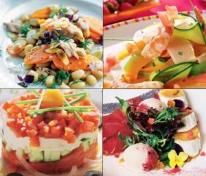 Con creatividad y buenas verduras y hortalizas, la comida veraniega brinda un sinfin de posibilidades